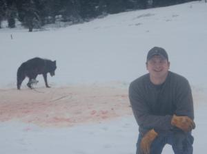 Idaho wolf killer Josh Bransford in 2012.