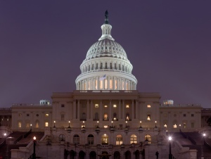 """""""US Capitol Building at night Jan 2006"""" by Diliff - Self-published work by Diliff. Licensed under CC BY 2.5 via Wikimedia Commons -"""