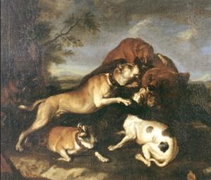 Bear-bating_Abraham_Hondius_1650
