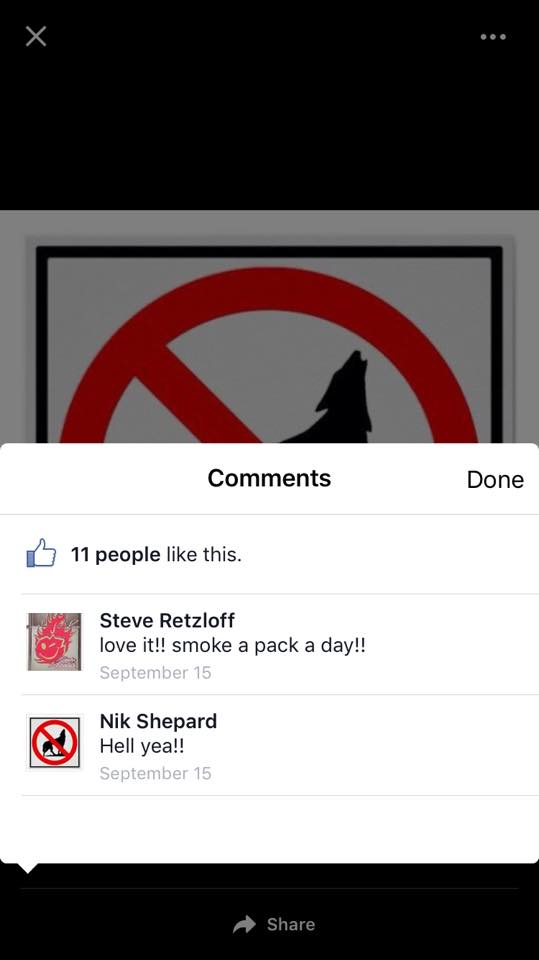 One of Rep. Jarchow's bill supporters. Screenshot shared under Fair Use.